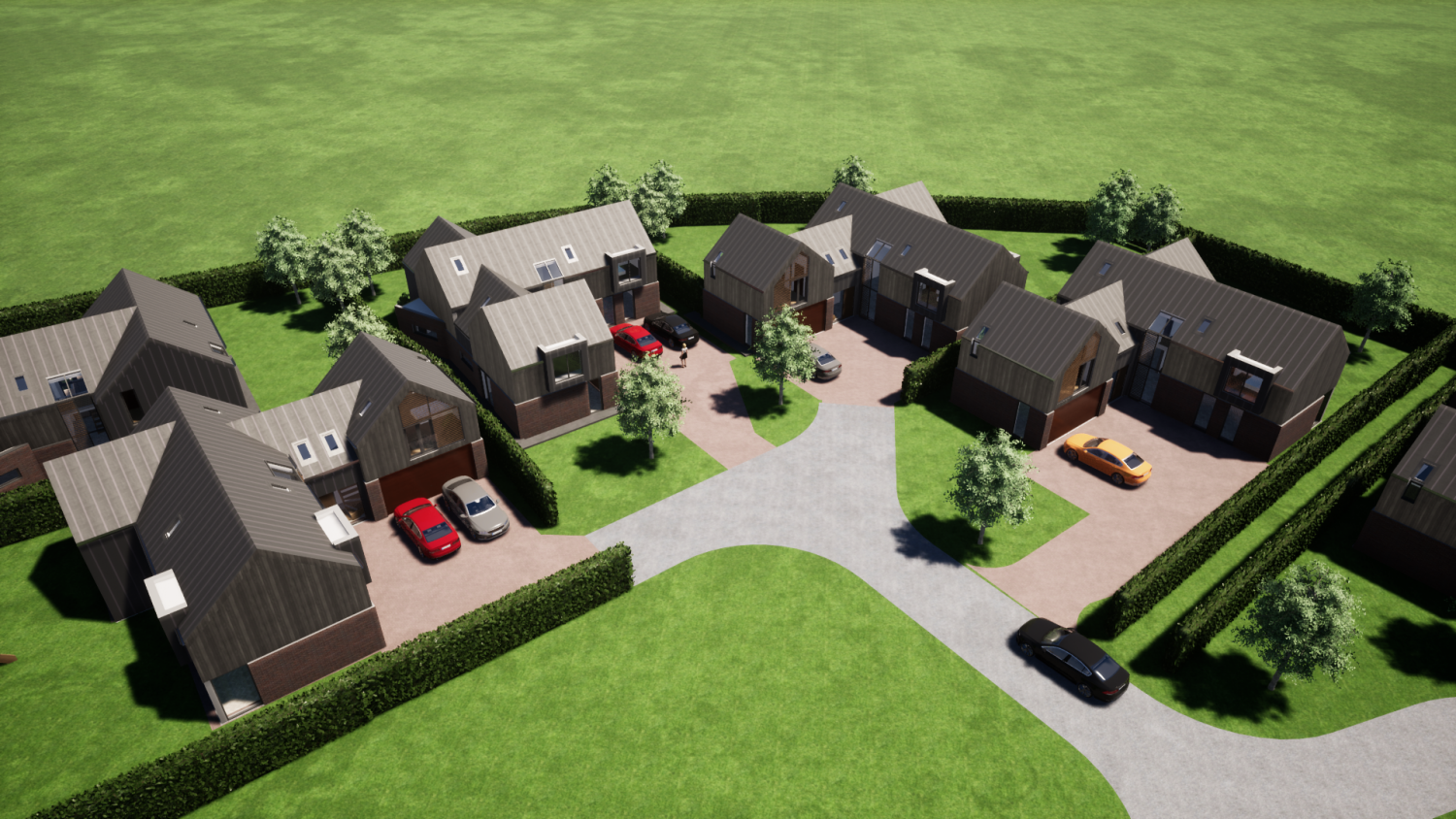 New build homes rugby